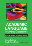Academic Language in Diverse Classrooms Definitions and Contexts  2014 edition cover