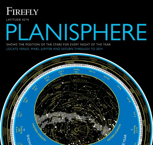 Firefly Planisphere Latitude 42 Degrees North 2nd 2010 (Revised) edition cover