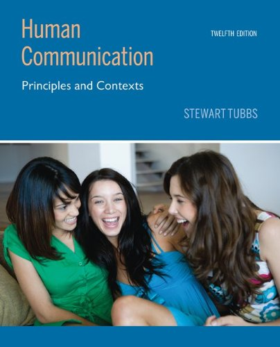 Human Communication Principles and Contexts 12th 2010 edition cover