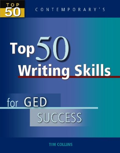 Top 50 Writing Skills for GED Success   2006 9780077044787 Front Cover