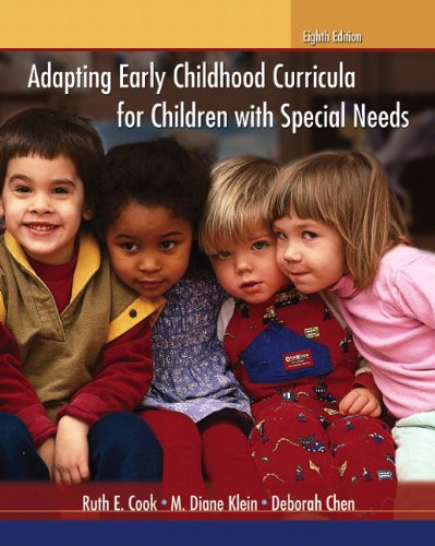 Adapting Early Childhood Curricula for Children with Special Needs  8th 2012 (Revised) edition cover