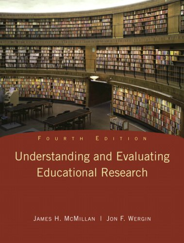 Understanding and Evaluating Educational Research  4th 2010 edition cover