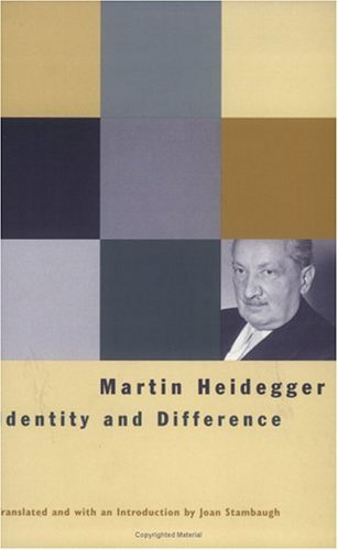 Identity and Difference   2002 edition cover