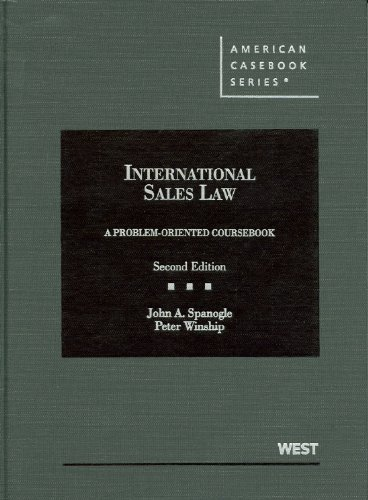 International Sales Law Problem-Oriented Coursebook 2nd 2012 (Revised) edition cover