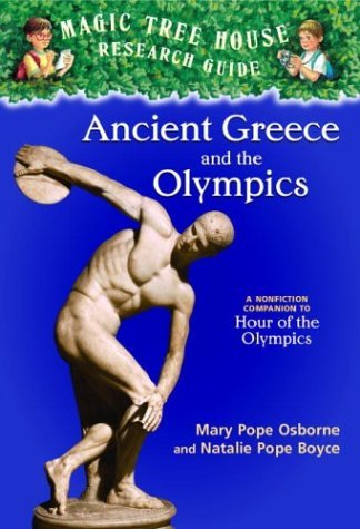 Ancient Greece and the Olympics A Nonfiction Companion to Hour of the Olympics  2004 edition cover