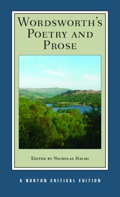 Wordsworth's Poetry and Prose   2014 edition cover