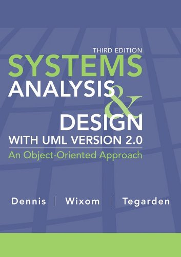 Systems Analysis and Design with UML  3rd 2009 edition cover