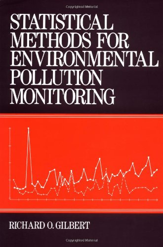 Statistical Methods for Environmental Pollution Monitoring   1987 edition cover