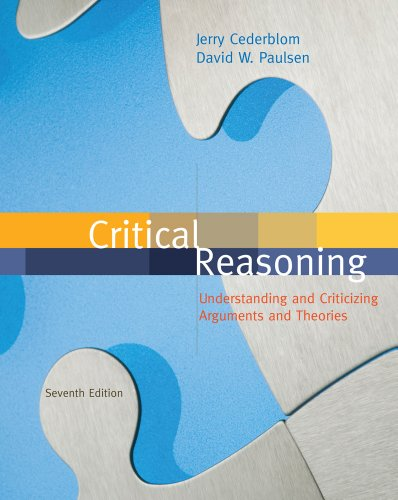 Critical Reasoning  7th 2012 edition cover