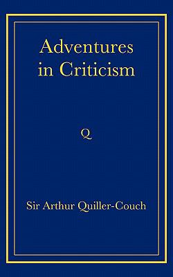 Adventures in Criticism   2008 9780521736787 Front Cover