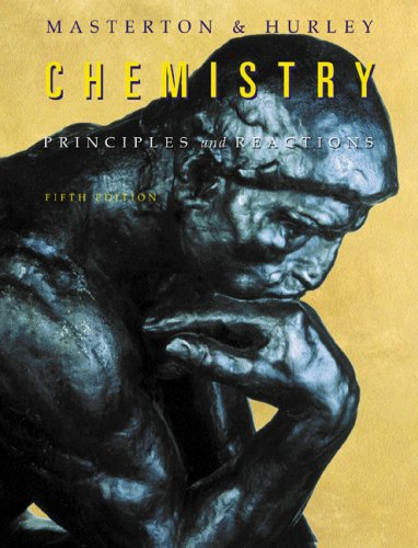 Chemistry Principles and Reactions 5th 2004 (Revised) 9780534408787 Front Cover