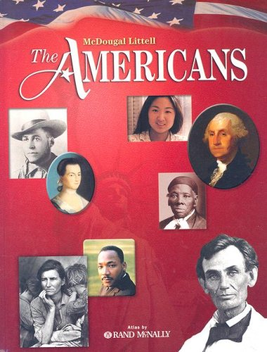 Americans  Student Manual, Study Guide, etc.  9780618108787 Front Cover