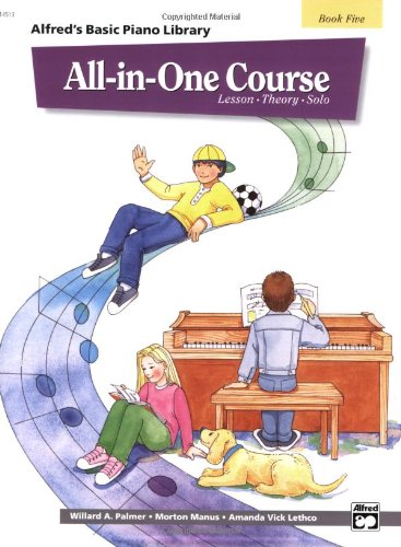 Alfred's Basic All-in-One Course for Children   1995 edition cover