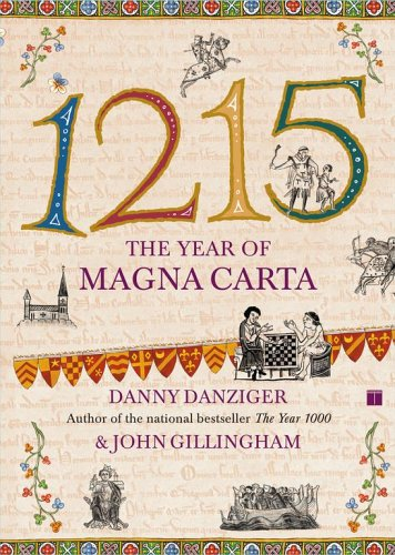 1215 The Year of Magna Carta  2003 9780743257787 Front Cover