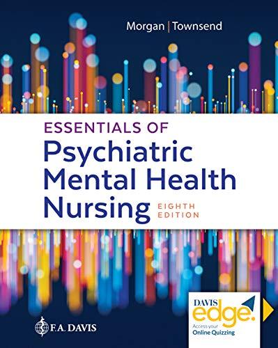 Cover art for Essentials of Psychiatric Mental Health Nursing, 8th Edition