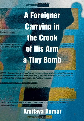 Foreigner Carrying in the Crook of His Arm a Tiny Bomb   2010 edition cover