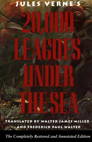 20,000 Leagues under the Sea  Unabridged  edition cover