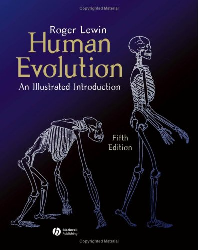 Human Evolution An Illustrated Introduction 5th 2004 (Revised) edition cover