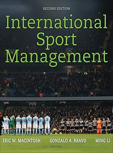 International Sport Management  2nd 2019 9781492556787 Front Cover