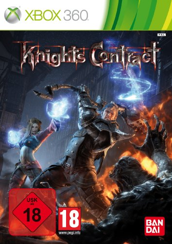 Knights Contract Xbox 360 artwork