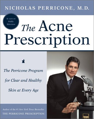 Acne Prescription The Perricone Program for Clear and Healthy Skin at Every Age  2003 edition cover