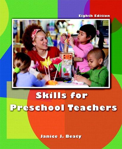 Skills for Preschool Teachers  8th 2008 edition cover