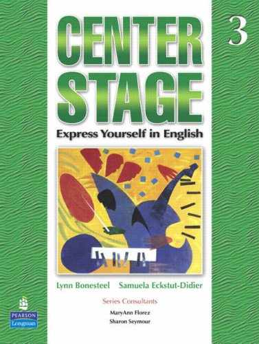 Center Stage, Level 3   2007 (Student Manual, Study Guide, etc.) edition cover