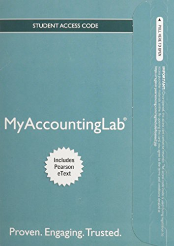 NEW MyAccountingLab with Pearson EText -- Access Card -- for PH's Federal Taxation 2014 Comprehensive  27th 2014 9780133451788 Front Cover