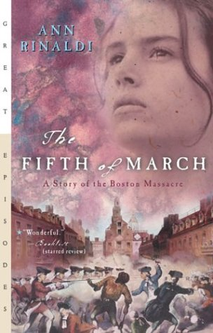 Fifth of March A Story of the Boston Massacre  1993 edition cover
