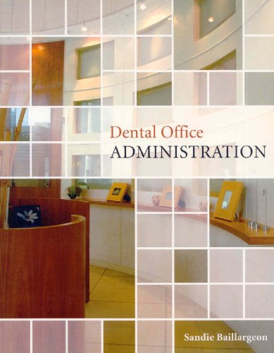 DENTAL OFFICE ADMINISTRATION 1st 9780176104788 Front Cover