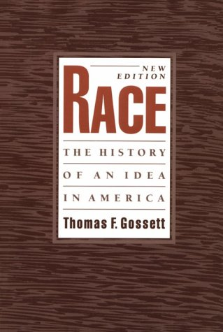 Race The History of an Idea in America 2nd 1997 edition cover