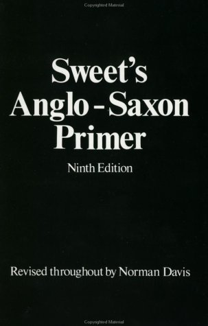 Sweet's Anglo-Saxon Primer  9th 1953 (Revised) edition cover