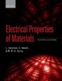 Electrical Properties of Materials  9th 2014 edition cover