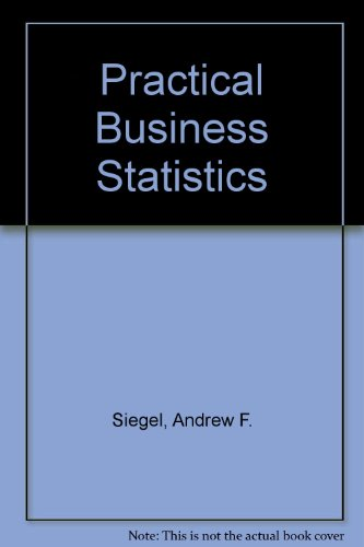 Practical Business Statistics Statpad Manual 3rd 1997 9780256224788 Front Cover