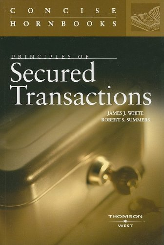 Principles of Secured Transactions   2007 edition cover
