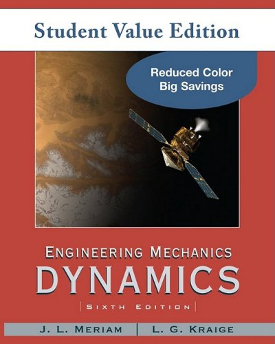 Engineering Mechanics Dynamics, Student Value Edition 6th 2010 (Revised) edition cover