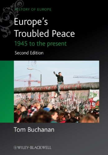 Europe's Troubled Peace 1945 to the Present 2nd 2012 edition cover