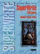 SuperWrite Dictionary Alphabetic Writing System 2nd 1996 9780538630788 Front Cover