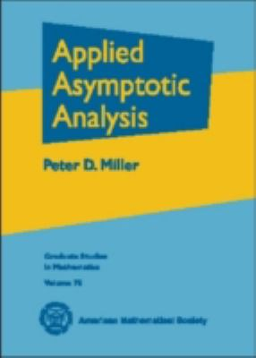 Applied Asymptotic Analysis   2006 edition cover