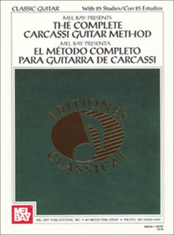Complete Carcassi Guitar Method   1974 edition cover