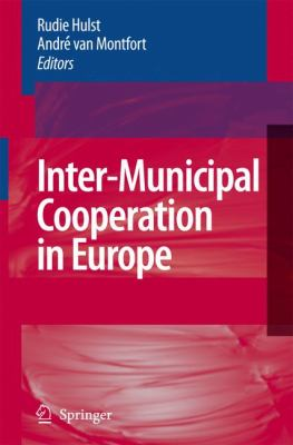Inter-Municipal Cooperation in Europe   2007 9781402053788 Front Cover