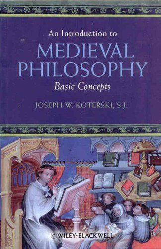 Introduction to Medieval Philosophy Basic Concepts  2009 edition cover