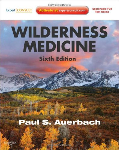 Wilderness Medicine  6th 2011 edition cover