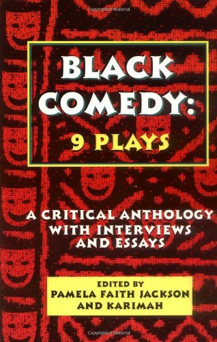 Black Comedy 9 Plays - A Critical Anthology with Interviews and Essays  1998 edition cover