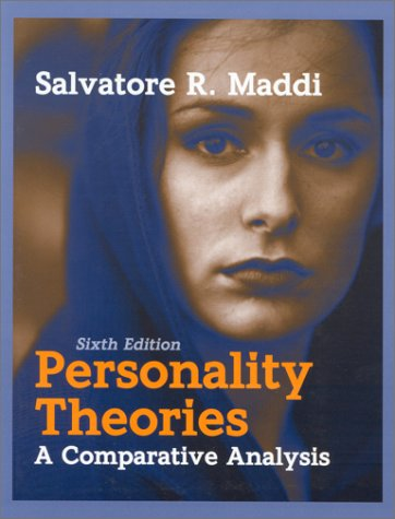 Personality Theories A Comparative Analysis 6th 1996 edition cover