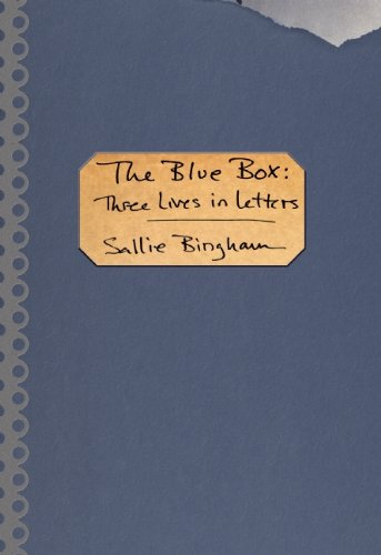 Blue Box Three Lives in Letters  2014 9781936747788 Front Cover
