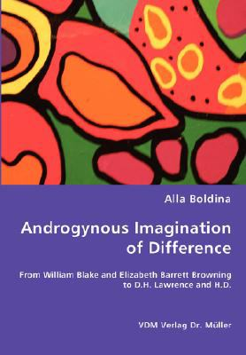Androgynous Imagination of Difference N/A 9783836461788 Front Cover