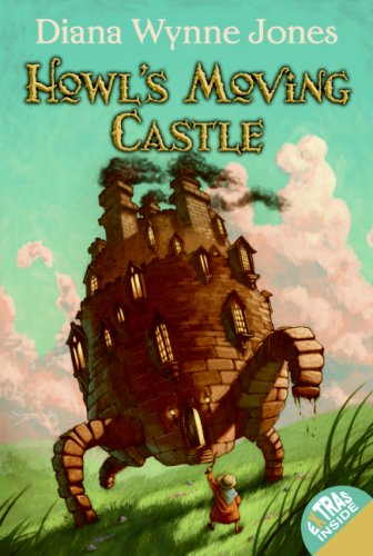 Howl's Moving Castle   1986 9780061478789 Front Cover