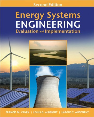Energy Systems Engineering Evaluation and Implementation 2nd 2012 edition cover