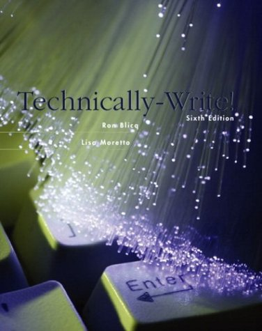 Technically-Write!  6th 2004 (Revised) edition cover